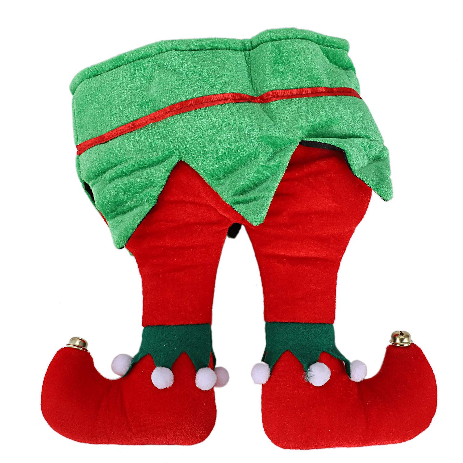 get quotations sodial funny christmas and holiday party pants hat 3d adult