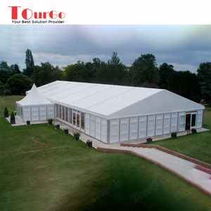 TourGo Customized High Quality Large Warehouse Storage Hard Wall Tent