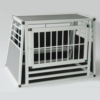wholesale double door folding aluminum dog crate