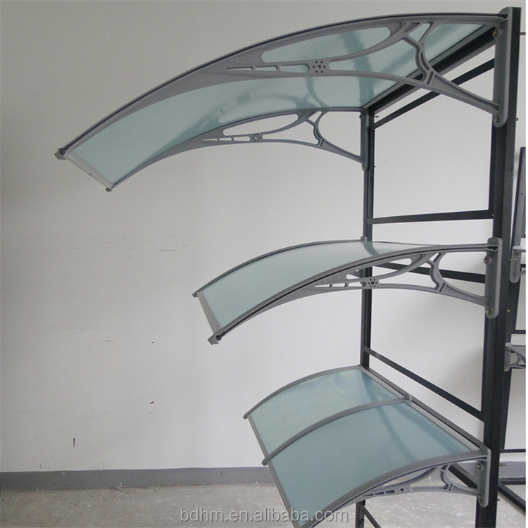 Direct factory waterproof fabric canopy front door shop awning aluminum bracket awning