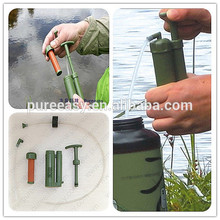 outdoor survival drinking water filter