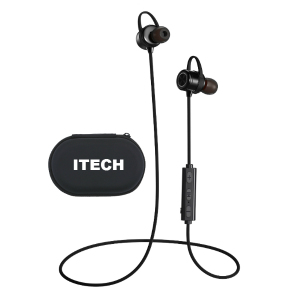 Shenzhen New molde waterproof headphones, wireless running earbuds with Mic, Noise cancelling ROHS Bluetooth Headset For Sport