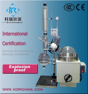 Explosion proof Lab Crystallizer Vapor distillation Laboratory Thermal Evaporator