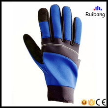 2017 top quality Synthetic Leather protective mechanics glove