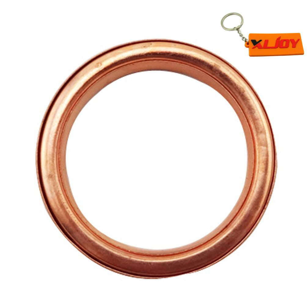 XLJOY 10pcs 25mm Exhaust Muffler Pipe Gasket Fit Chinese Moped Scooter Pit Dirt Bike ATV Quad