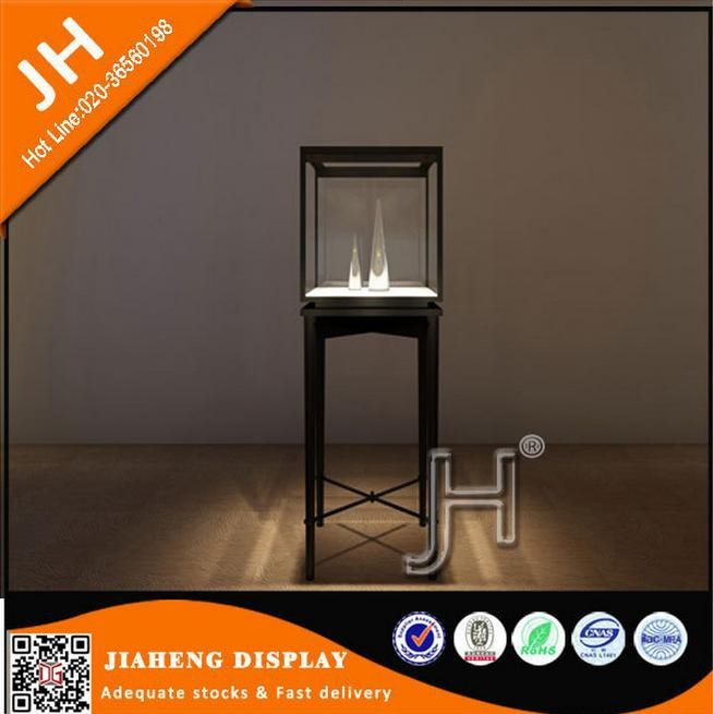 High end quality Tempered glass MDF jewellery shop furniture