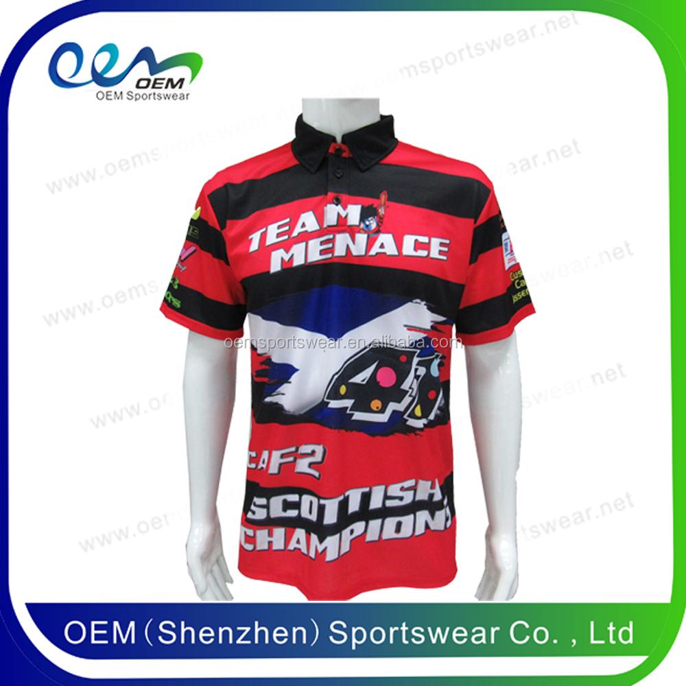Custom racing team racing pit crew shirt groothandel for Custom race shirts no minimum