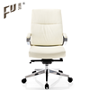 Fashion Design Low Back PU Genuine Leather secretary Office Chair