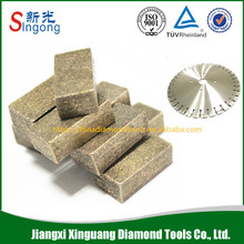 good diamond segment cutting tool for tile(marble and granite)