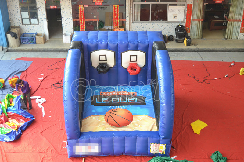 inflatable basketball game basketball shooting game