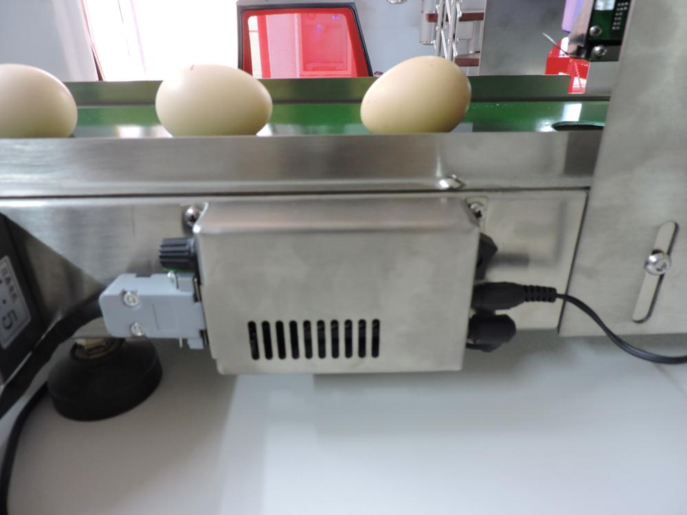 2018 Kelipu Hot Product Egg Date Coder / Egg Inkjet Printer / Industrial Machine Wholesale inkjet Date Coder