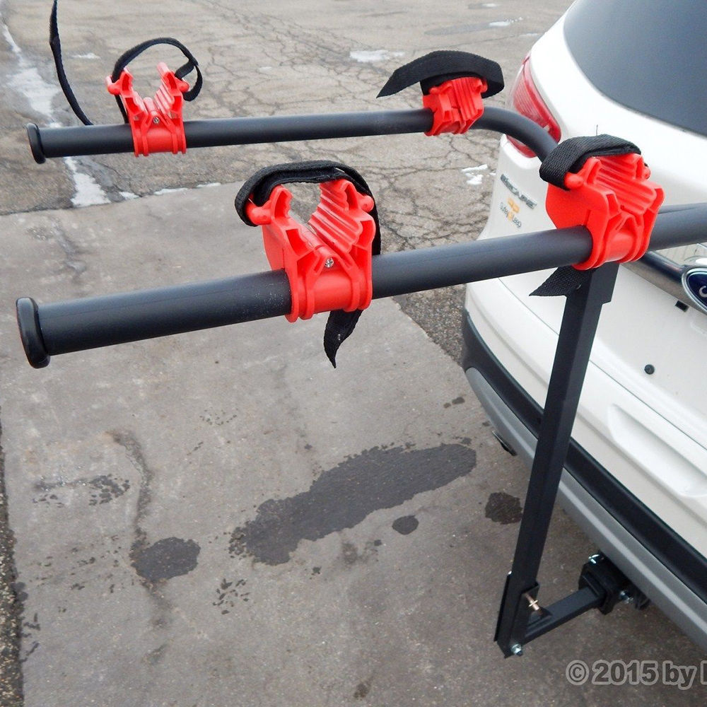 New 2 Bicycle Bike Rack Hitch Mount Carrier Car Truck SUV Swing Away Deluxe