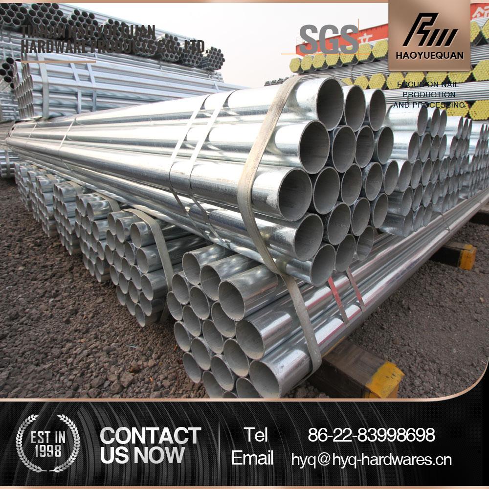 Precios dn32 tubo galvanizado de tubos de acero - Acero galvanizado precio ...
