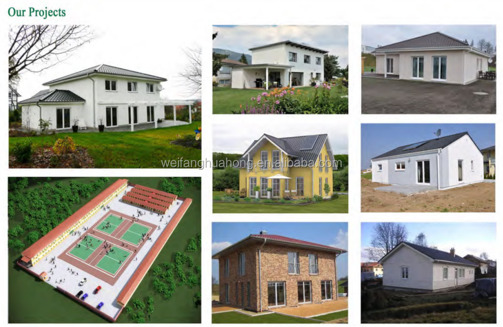 hot sale cost saving quick build 2 bedroom low cost house design