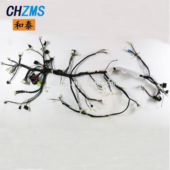 car wire harness,custom made big equipment wire harness production line