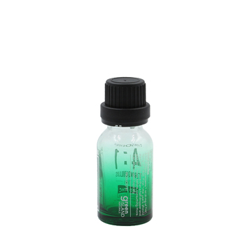 essential oil bottle packaging 30ml 50ml shade green glass bottle with screw cap