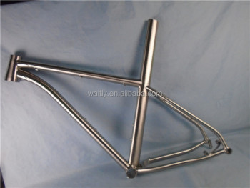 "News 26"" Titanium MTB frame for 4-speed hub gears"