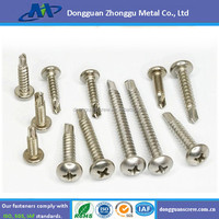 Stainless steel 304 Right hand thread self- drilling screws