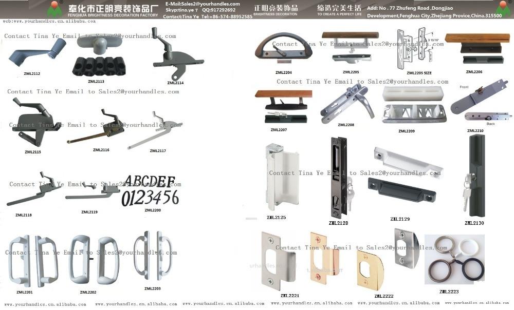 American Style Door Locks And Handles, Sliding Patio Door Handle Lock