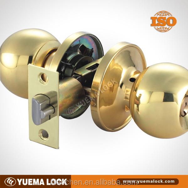 587 Pb-et Cerradura De Pomo/ Perillas/ Cylindrical/wooden Or Metal ...