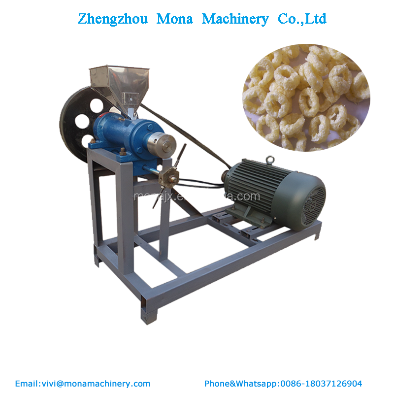 Snack Food Extruder Machine / <strong>Corn</strong> / Puffed Rice Making Machine