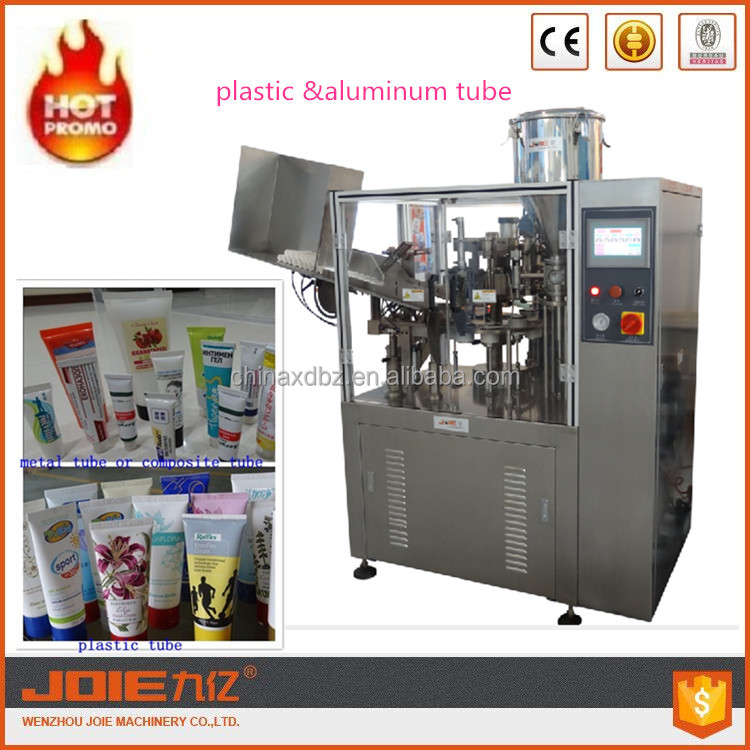 JOIE Automatic Grade Daily Chemical Tube Fill Seal Equipment