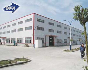 Export To Malaysia Industrial Prefab Metal Steel Shed Warehouse