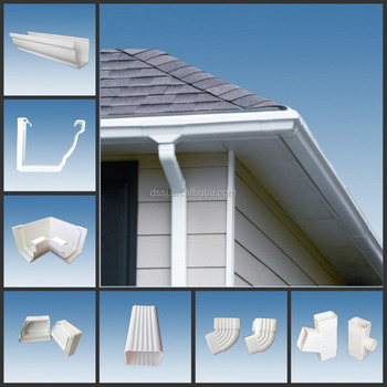 Ds Pvc 5 2 Quot K Style White Gutter System Roof Gutter