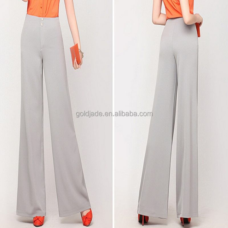 korea design new ladies fashion trousers designhigh
