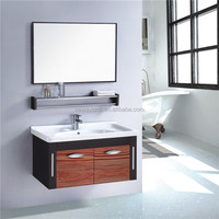 New stainless steel wall mounted lowes bathroom sinks vanities with shelf