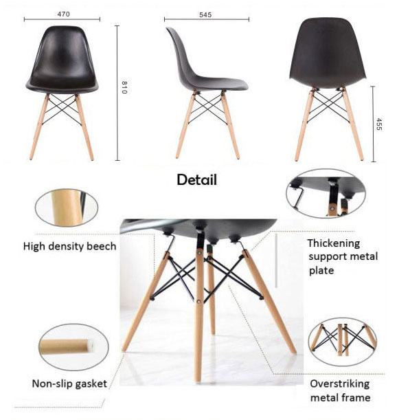 YMG-9210 2015 New Style Cheapest pp famous italian leisure designed dining chair