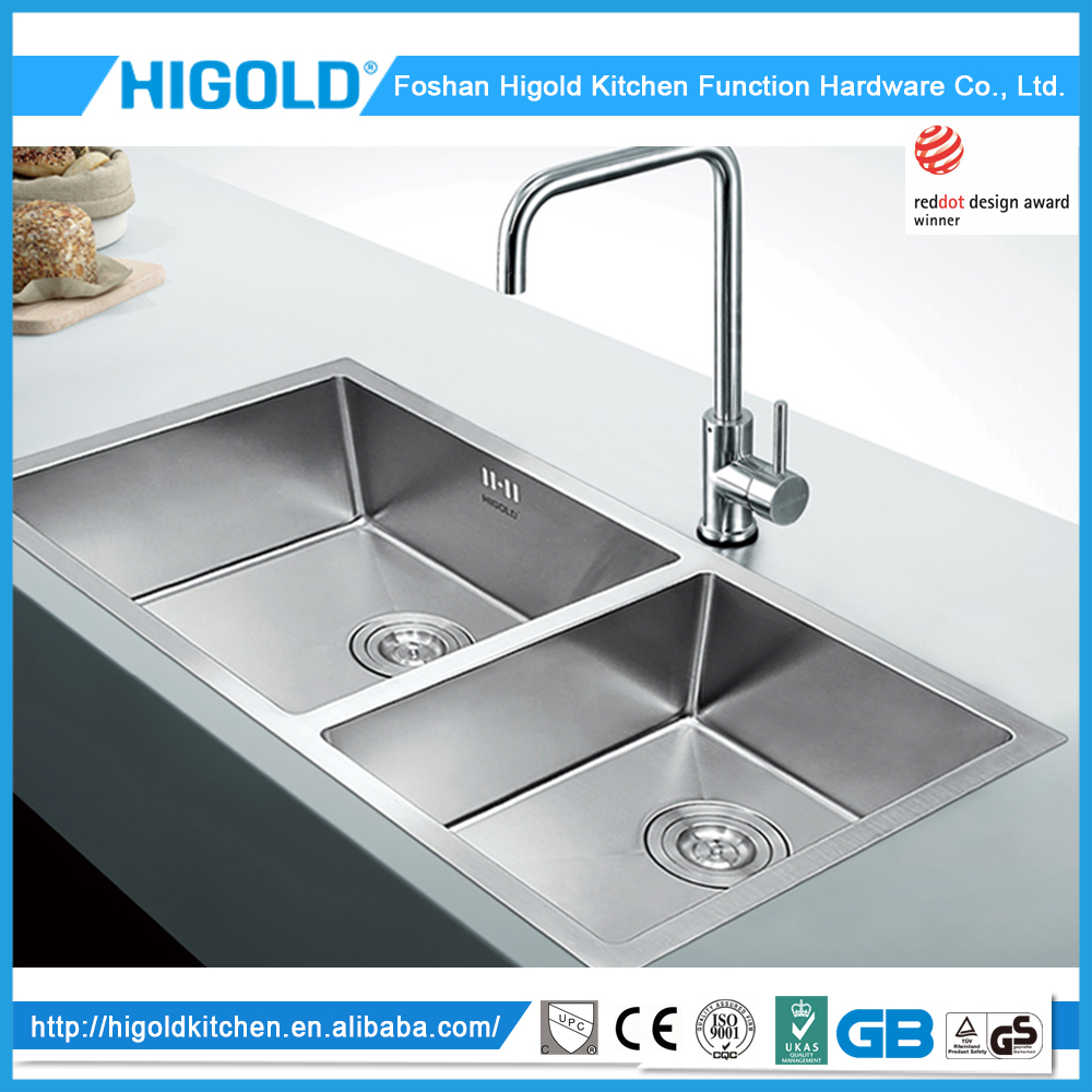 Higold square kitchen sinks wholesale low price high for High quality kitchen sinks