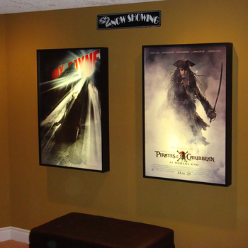 Indoor Or Outdoor Fabric Movie Poster Light Box Display Frame Cinema ...