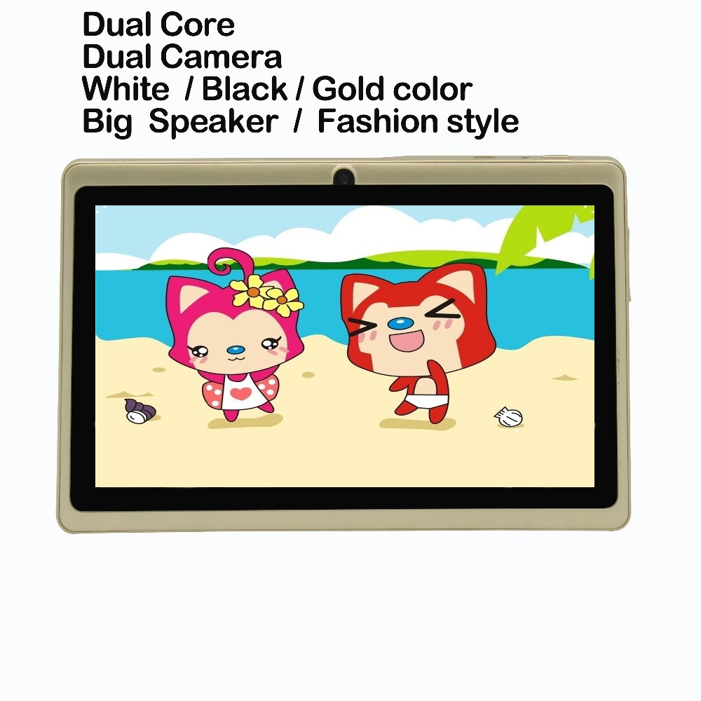 "7"" Quad Core Tablet PC Android 4.4 Quad Core Bluetooth WiFi   Pink Tablet"
