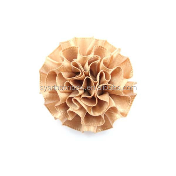 Wholesale fashion decoration flower fabric flower for clothing