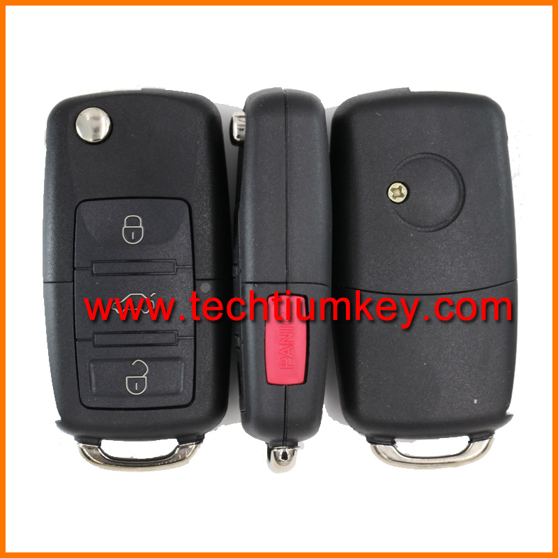3+1 remote key polo jetta 5k0 959 753 AD with 315 mhz for vw