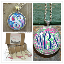 Free Shipping Monogrammed Lilly Pulitzer Necklace
