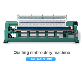 High speed computerized mattress chain stitch quilting machine