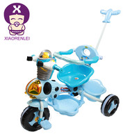 Luxury Little Red 3 Wheel Toddler Tricycle With Parent Handle