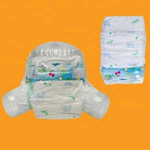 Baby fine disposable and cheap diapers container