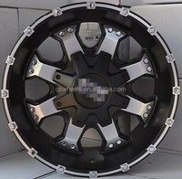 PCD 139.7 alloy wheels for sale 6 hole offroad alloy wheels new design 20 inch SUV 6x139.7 rims 4x4 suv