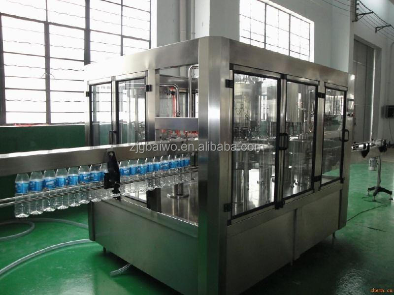 2014 new style PET bottle water liquid filling equipment