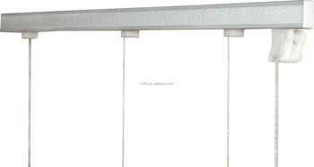 Alex Rail Set For Roman Blind Cord Up System Roman Shade