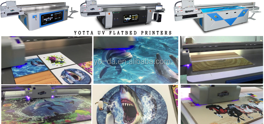 Imported print head uv digital led flatbed printer for floor wall tiles