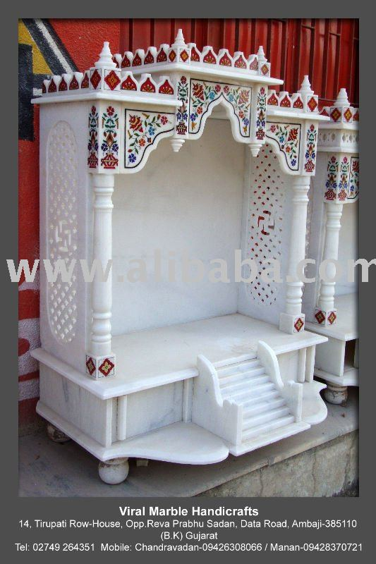 Marble pooja mandir designs for home review home decor for Marble temple designs for home