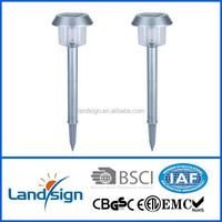 high quality solar light bulbs led XLTD-300SS outdoor garden solar post lights