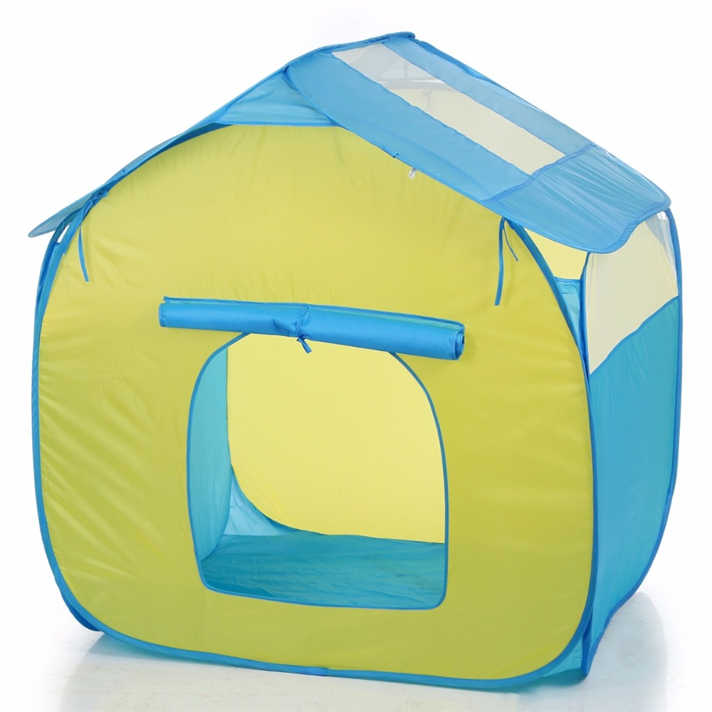 House Design Portable Pop Up Kids Play Tent