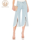 Fashion denim flare fairness women urban star jeans