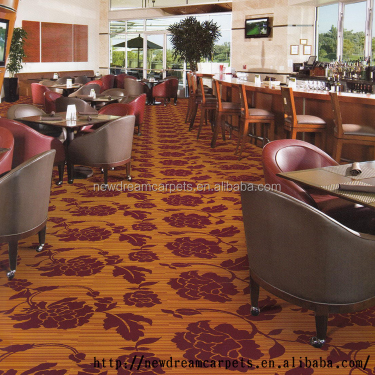 China supplied cheap goodlook design tufted carpet for broadloom bedroom public hall