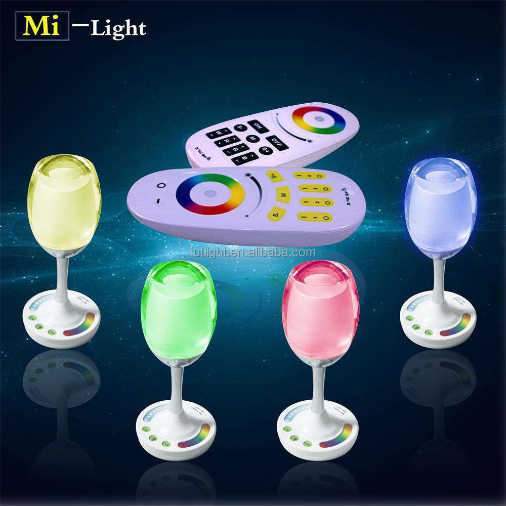 Low energy AC85-265V acrylic aluminum wifi rgb+warm white/cool white led cup light usb recharge with 2 years warranty